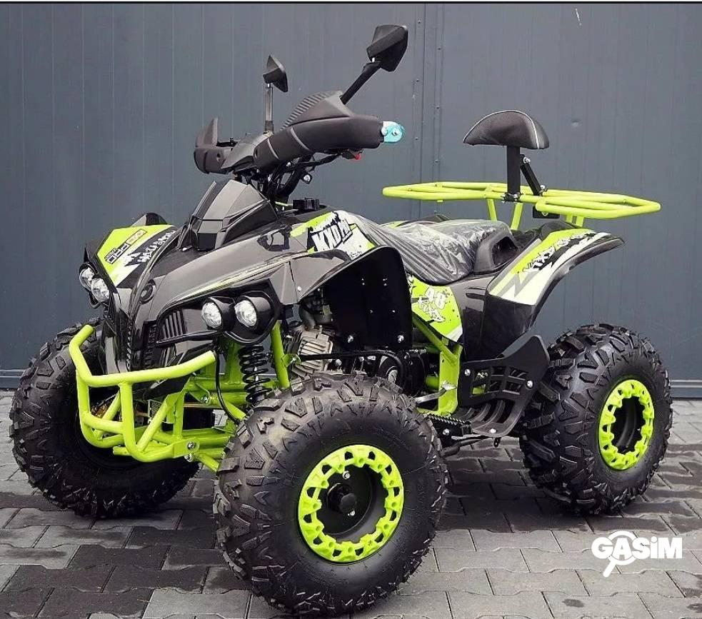 Atv 125Cc Pro Warrior Lemon Semiautomat/Roti De 8&