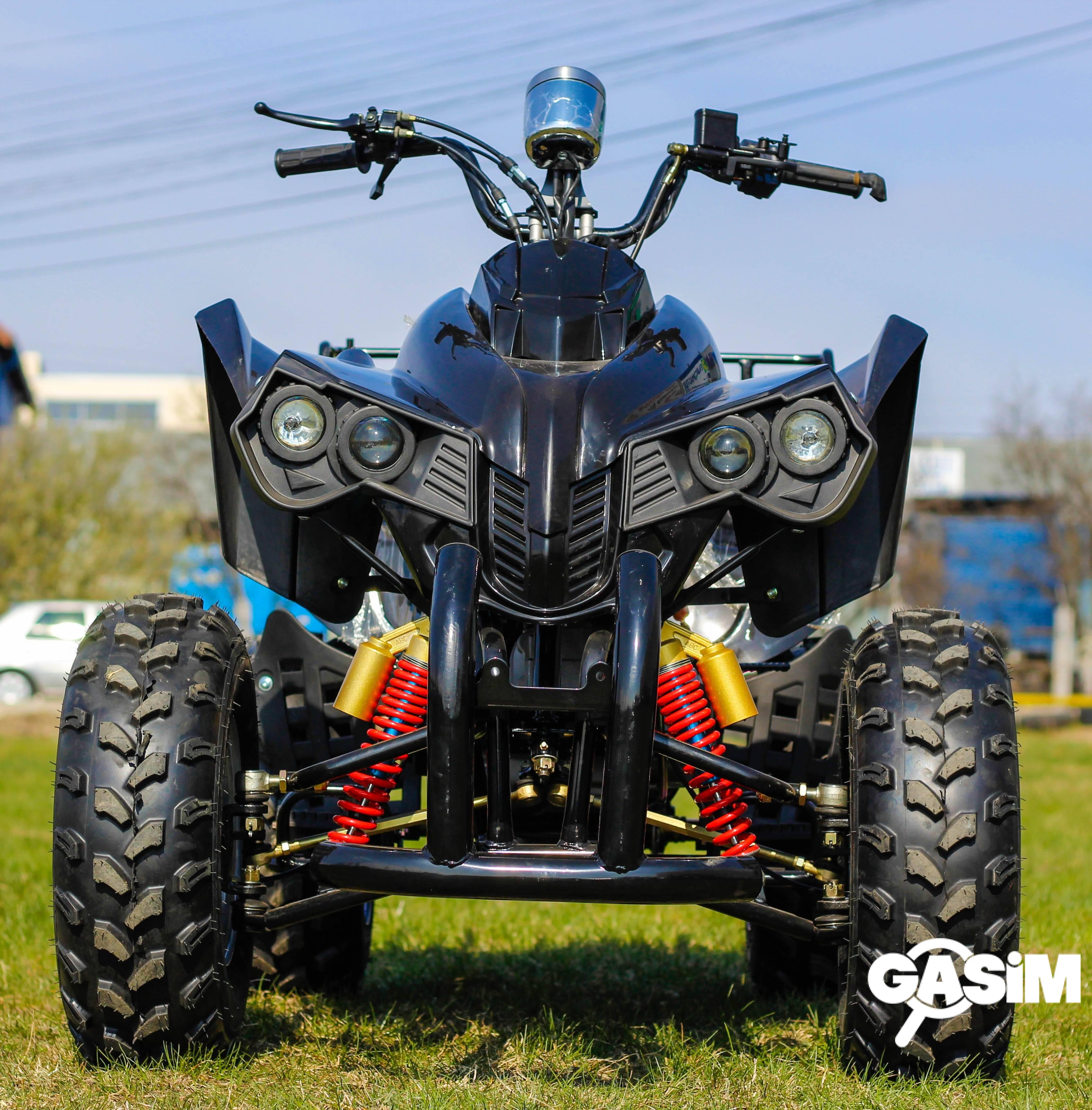 Atv 250Cc Akp Warrior Deluxe Manual/Roti De 10&rdq