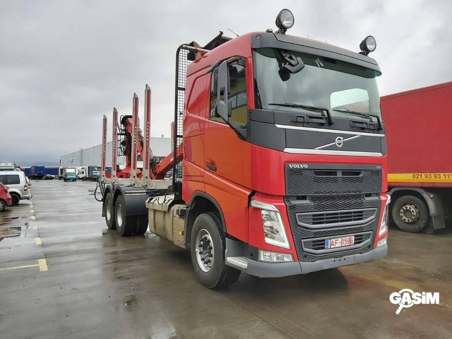 Volvo fh13 6x4 camion forestier pt transport buste